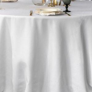 Runde Tischdecke mit Durchmesser 330cm mieten für Hochzeiten & Events