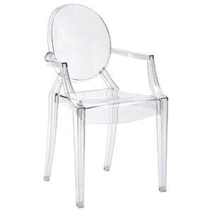Ghost Style Armrest Chairs mieten im Eventverleih Freiburg