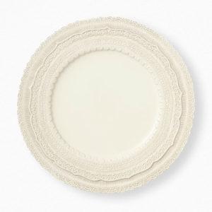 Platzteller Lace Plate dekorativ verziert zu mieten in Freiburg, Konstanz, NRW oder Chemnitz